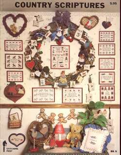 Country Scriptures BK 9 Cross Stitch Pattern Leaflet