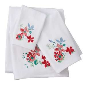 Croft and Barrow Spring Floral Bath Towels: Home & Kitchen