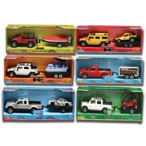 Buddy L Licensed Truck & Trailer: Toys & Games
