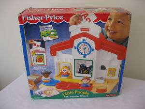 Fisher Price Little People ABC Surprise School Play Set