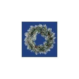 36 Scotch Pine Wreath 50 Dura Lit Clear Lights 35T
