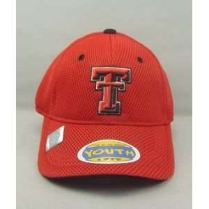 TEXAS TECH RED RAIDERS OFFICIAL NCAA LOGO ONE FIT YOUTH PERFORMANCE