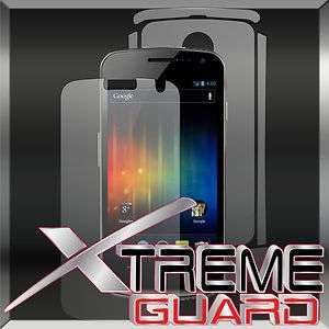NEW Samsung Galaxy Nexus Prime FULL BODY Clear LCD Screen Protector