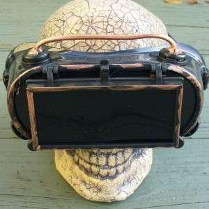 Steampunk Goggles Glasses cyber lens goth Victorian koc RAVE Biker
