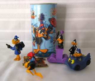 DafFy Duck Lot PVCs~Diecast~Magnet & Pin~Candy Holder WB Looney Tunes