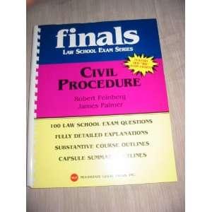 (Finals Law School Exam Series): Feingberg R. & Palmer J.: Books