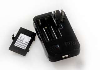 Black Universal Mobile Cell Phone Wall Travel Battery Charger