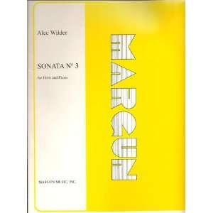 and Piano (Publication No. MM011) Alec Wilder, John Barrows Books