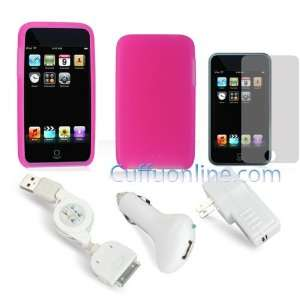 2nd Generation) Pink Skin Cover + Premium Screen Protector + New