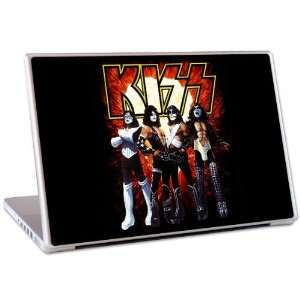 KISS10048 12 in. Laptop For Mac & PC  KISS  Love Gun Skin Electronics