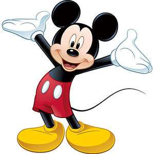 RoomMates Mickey Mouse Peel & Stick Giant Wall Decal Wall Stickers New