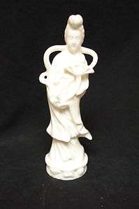 Napco CHINA BLANC QUAN YIN Delicate white porcelain  9 Japanese