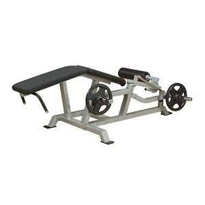 Body Solid Pro ClubLine Leverage Leg Curl (LVLC): Sports