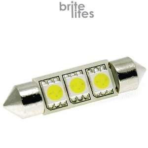 37mm 3x5450 SMD LED Bulb Festoon White Light Lamp. Retail