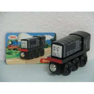 DIESEL ENGINE, THOMAS & FRIENDS WOODEN TRAIN LOOSE ITEM
