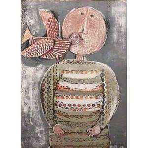 Avec Un Oiseau III by Graciela Rodo boulanger, 10x13