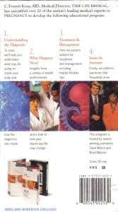 VHS TIME LIFE MEDICALPREGNANCY AT TIME OF DIAGNOSES