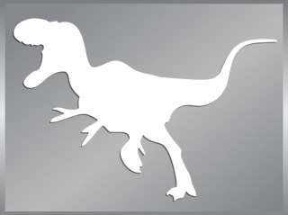 RAPTOR cut vinyl decal #2 Dinosaur car stickers to 6