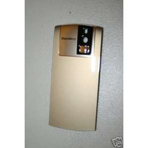 NEW* OEM RIM BLACKBERRY 8100 PEARL BACK COVER DOOR Gold Cell Phones