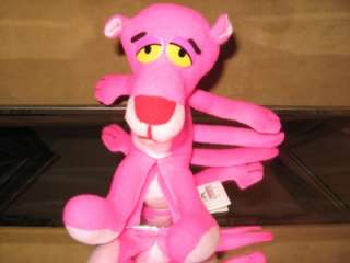 Vintage (PINK PANTHER) 10 Stuffed PLuSH DoLL Toy  1993