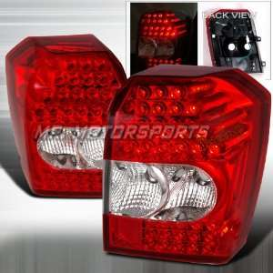 DODGE CALIBER L.E.D. TAIL LIGHTS RED