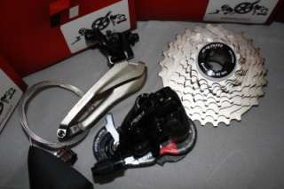 New Sram Red Black Edition 8 pcs GXP Group Ceramic Carbon 1091R