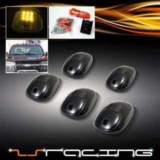 LENS CAB/TRUCK/VAN/SUV ROOF TOP MARKER RUNNING LIGHTS LAMPS SET