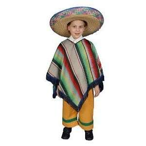 Mexican Boy Child Costume Size 4 6 Child Toys & Games