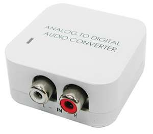 RCA Stereo To Digital Optical Coaxial S/PDIF Converter