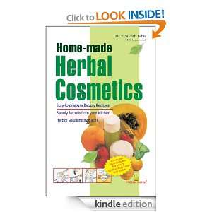 Home made Herbal Cosmetics Dr. S. Suresh Babu  Kindle