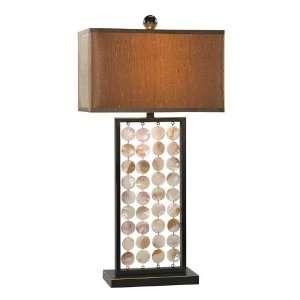 Draping Shells Table Lamp