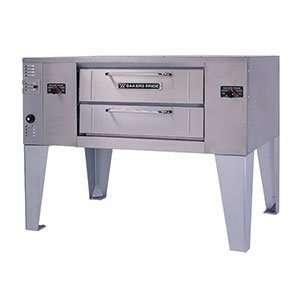 Propane Bakers Pride DS 805 Super Deck Single Deck Gas Pizza Oven