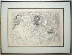 RAOUL DUFY (French, 1877 1953) Original c. 1925 Etching