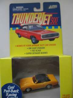 Johnny Lightning GTO Ragtop Orange Pullback Car