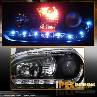 1999 2005 VW Golf MK4 SMD LED DRL Projector Head lights Turn Signal