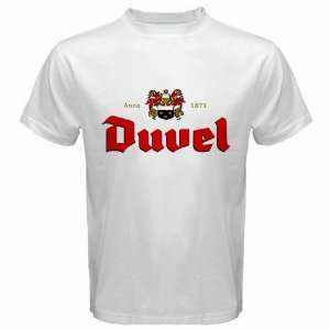 Duvel beer Logo New White T Shirt Size  XL Everything