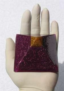 Orgone ~ Pyramid (violet)   Reiki Chi Prana EMF Qi Aura