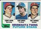Frank Viola 1983 Fleer 625 Kent Hrbek 1982 Topps 766 Rookies Minnesota