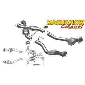 Magnaflow Tru X Stainless Steel Crossover Pipes   86 93 Ford Mustang 5