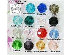 production description 40pcs multi color 15 swarovski crystal 5000