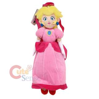 Nintendo Super Mario Princess Peach Plush dioll Backpack Bag Custume 1
