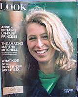Look Magazine July 1970 Princess Anne Martha Mitchell