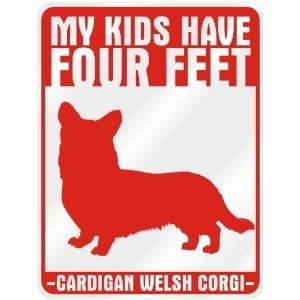 New  My Kids Have 4 Feet : Cardigan Welsh Corgi  Parking