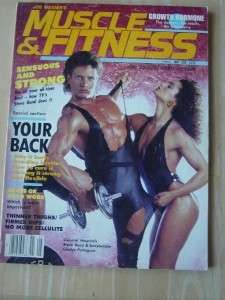 Muscle & Fitness mag/Steve Bond/Gladys Portugues 5 86