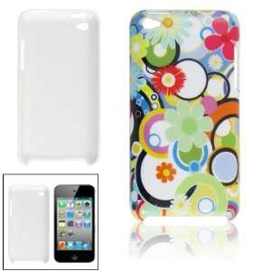 Gino Plastic Colorful Circle Floral Print IMD Cover for