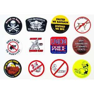 12 UNION Hardhat Decals hard hat helmet sticker American