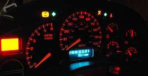 to 2002 Chevy Silverado Suburban Escalade Red LED Instrument Cluster