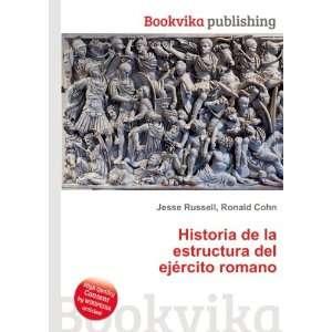 Historia de la estructura del ejército romano Ronald