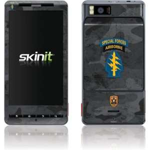 Special Forces Airborne skin for Motorola Droid X