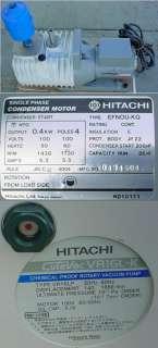 HITACHI CuteVac VR16L K DIRECT DRIVE ROTARY VACUUM PUMP